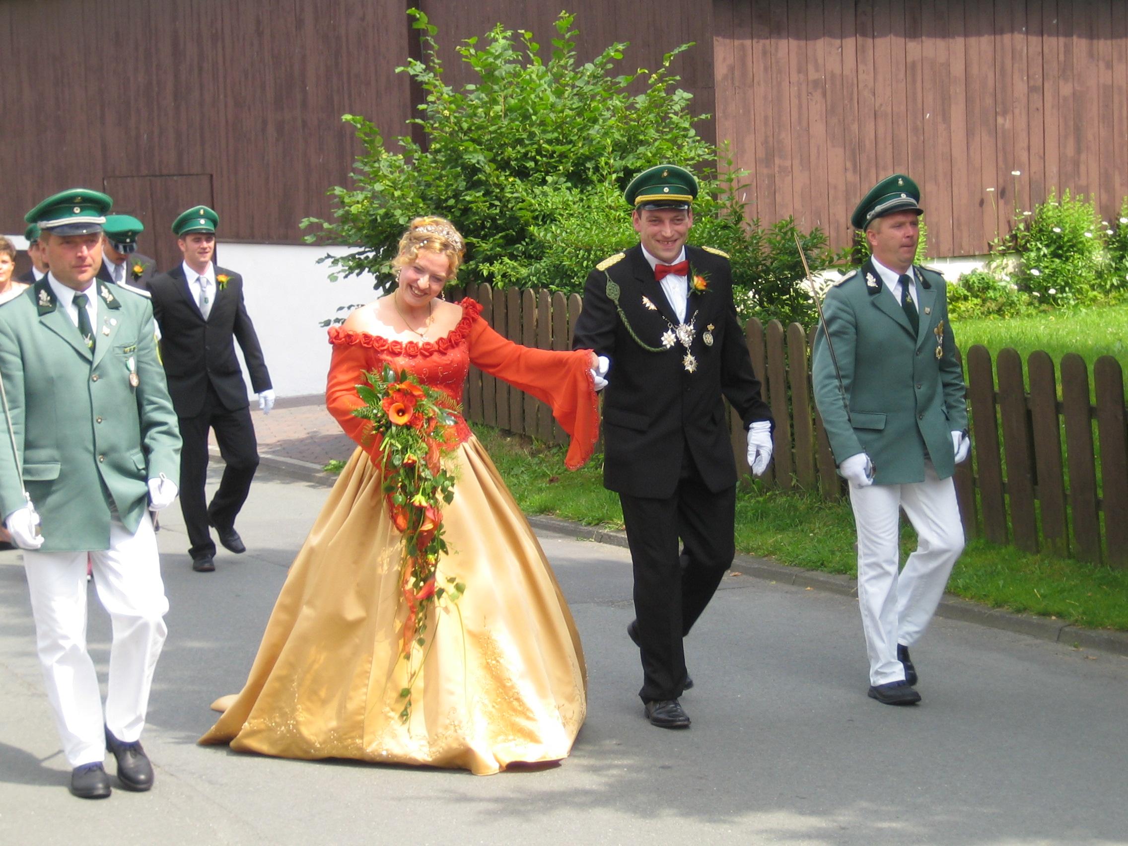 Das Schützenfest in Liesen findet immer am 1. August-Wochenende statt.